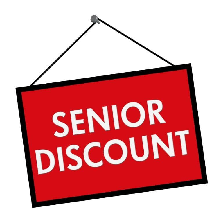 Discount Programs for people over 50