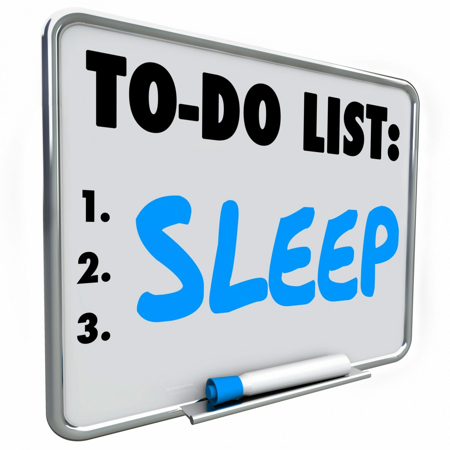 Sleep To Do List