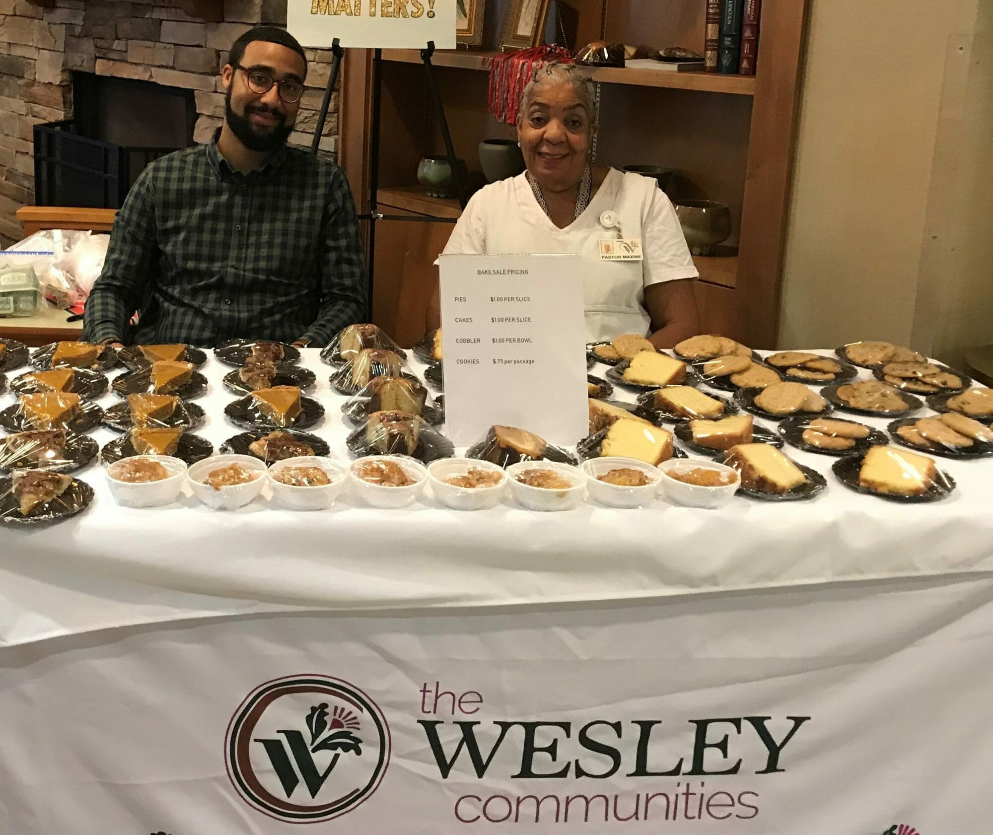 Bake Sale Supports Black History Month Activities